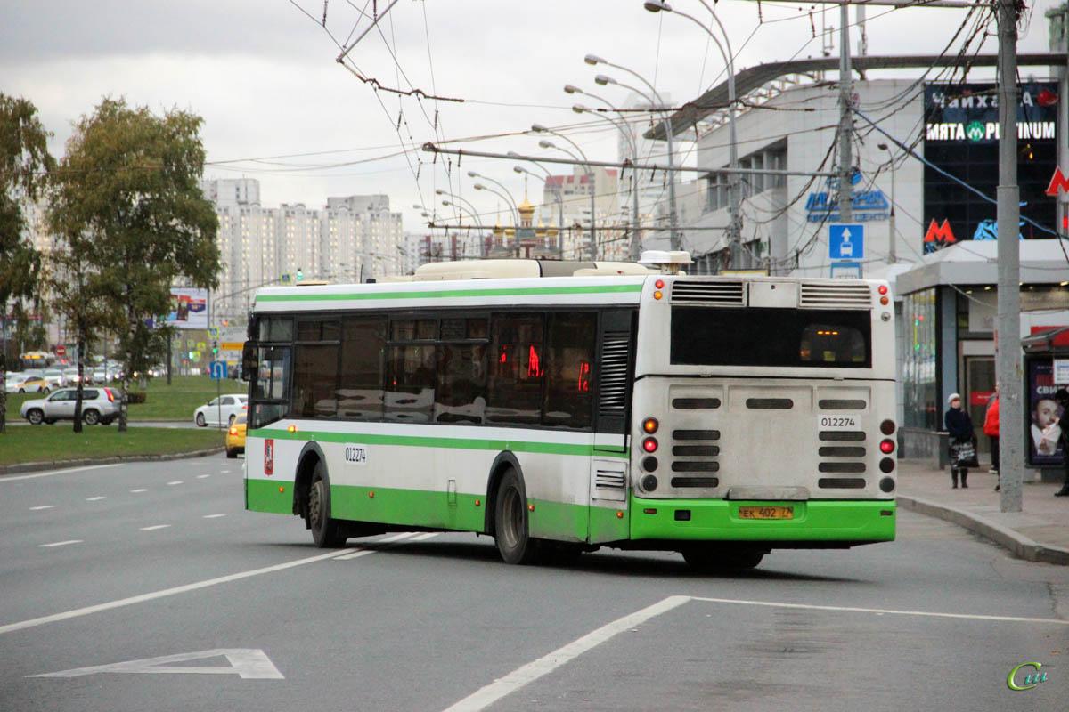 Москва. ЛиАЗ-5292.21 ек402