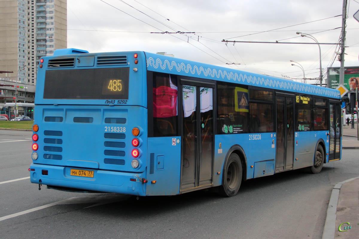 Москва. ЛиАЗ-5292.65 мн074