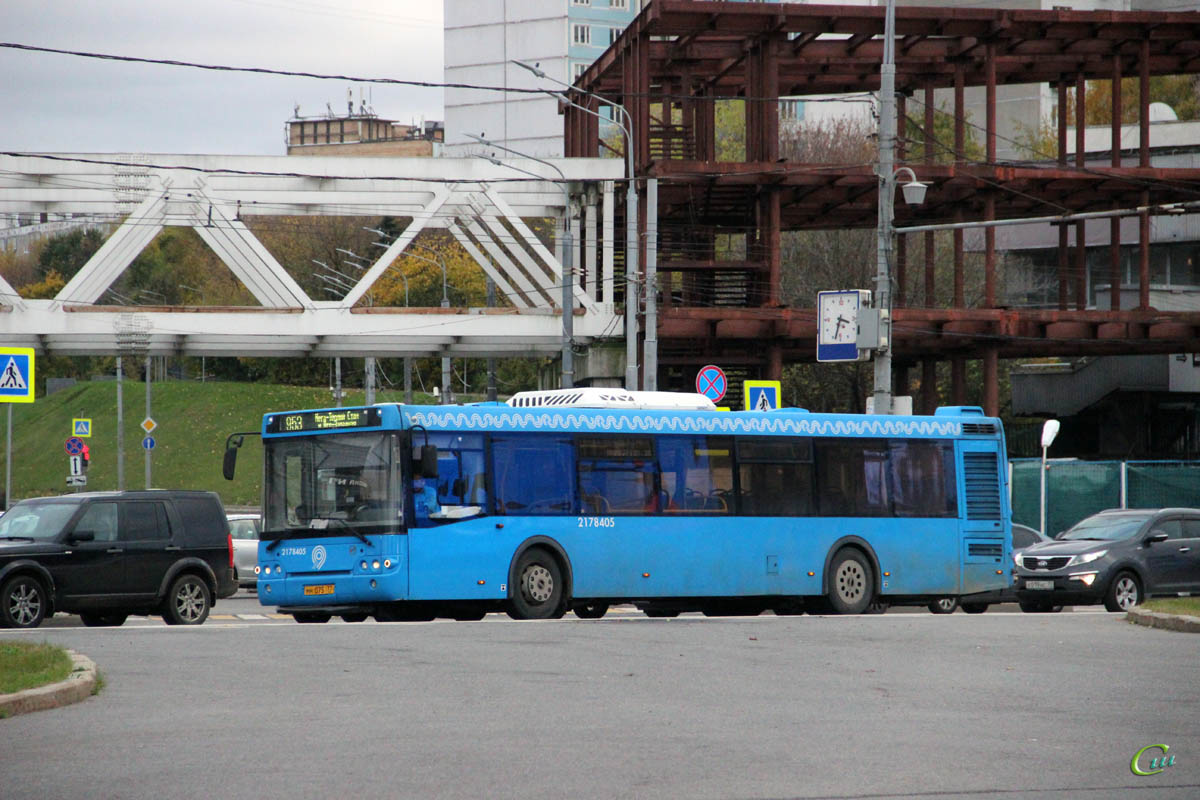 Москва. ЛиАЗ-5292.65 мн075