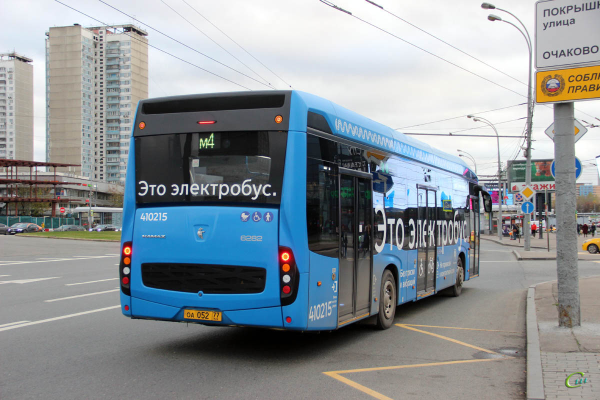 Москва. КамАЗ-6282 оа052