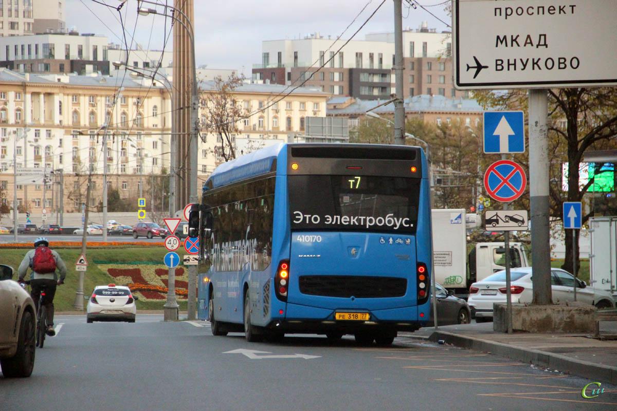 Москва. КамАЗ-6282 ре318