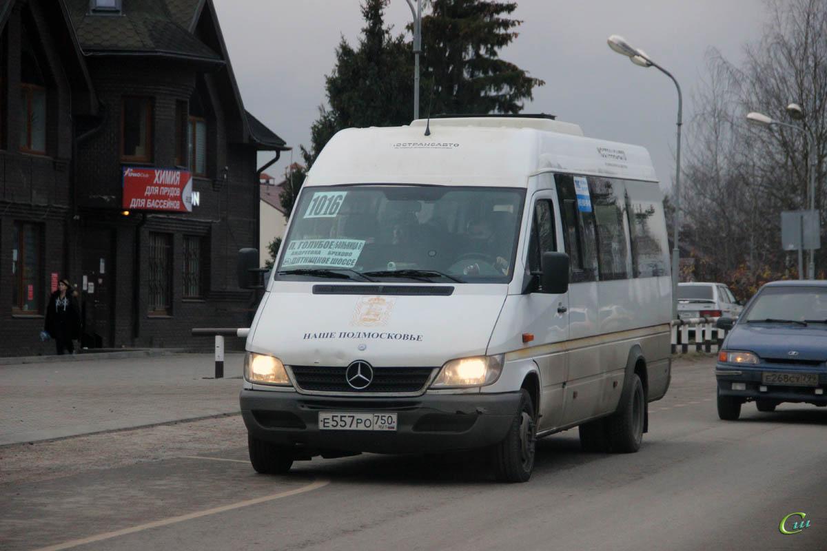 Москва. Луидор-223237 (Mercedes-Benz Sprinter) е557ро