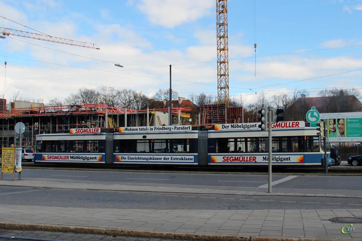 Мюнхен. Adtranz R2.2 №2170