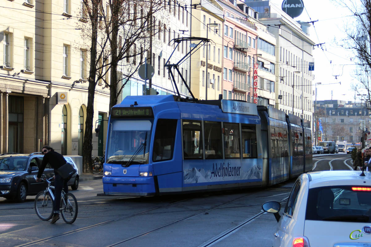 Мюнхен. Adtranz R3.3 №2207