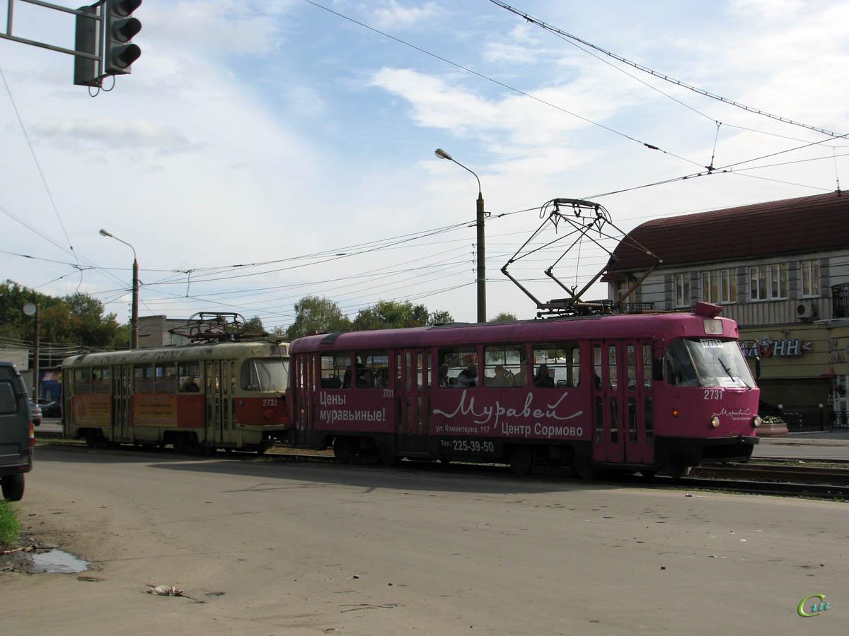 Нижний Новгород. Tatra T3SU №2731, Tatra T3SU №2732