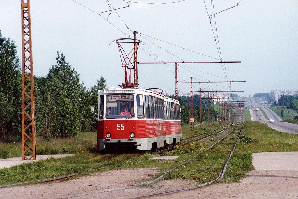 Старый Оскол. 71-605 (КТМ-5) №55, 71-605 (КТМ-5) №53