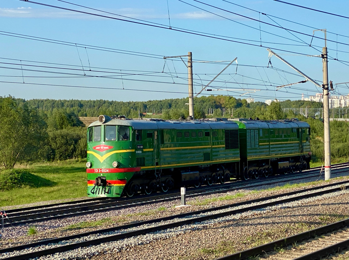 Москва. ТЭ3-5524