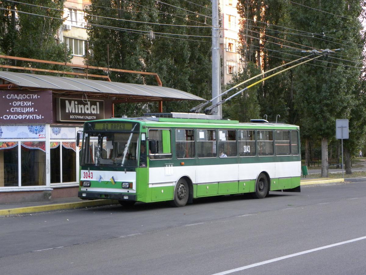 Николаев. Škoda 14TrM №3043