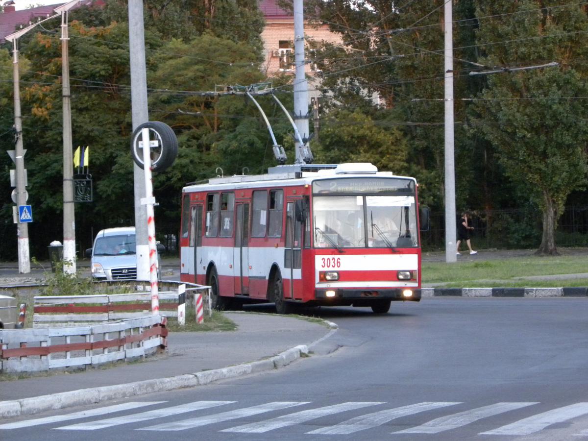 Николаев. Škoda 14TrR №3036