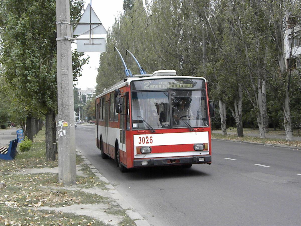 Николаев. Škoda 14TrR №3026