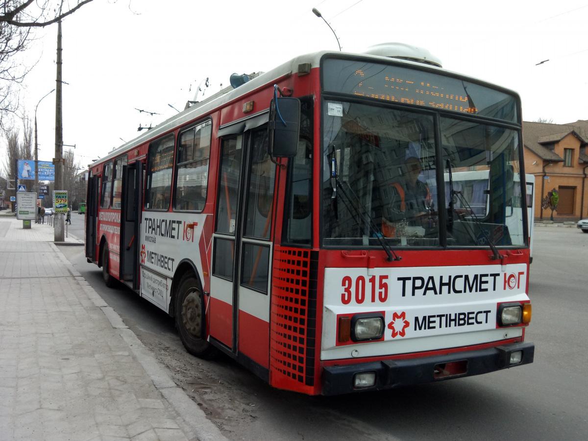 Николаев. Škoda 14TrR №3015