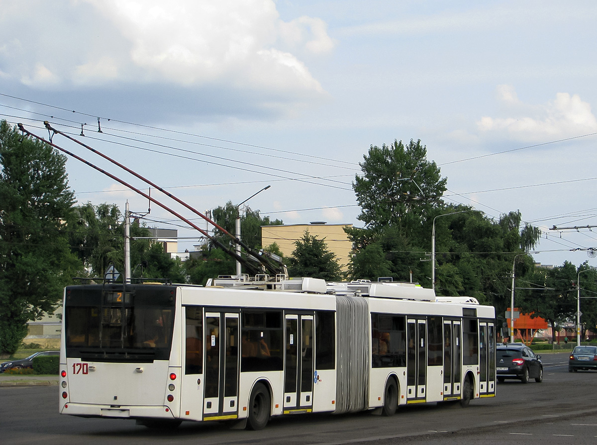 Бобруйск. МАЗ-ЭТОН Т215 №170