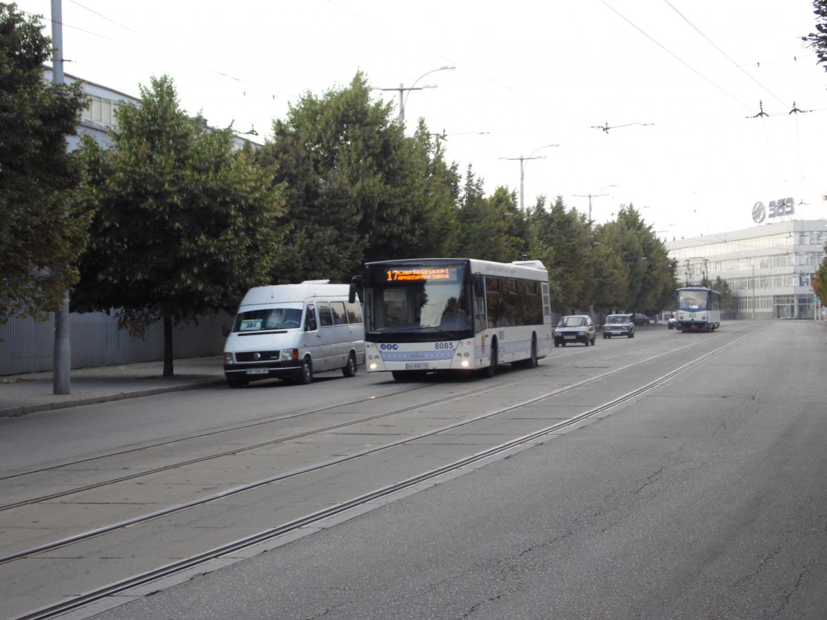 Запорожье. Tatra T6B5 (Tatra T3M) №423, МАЗ-203.085 AA8085TH