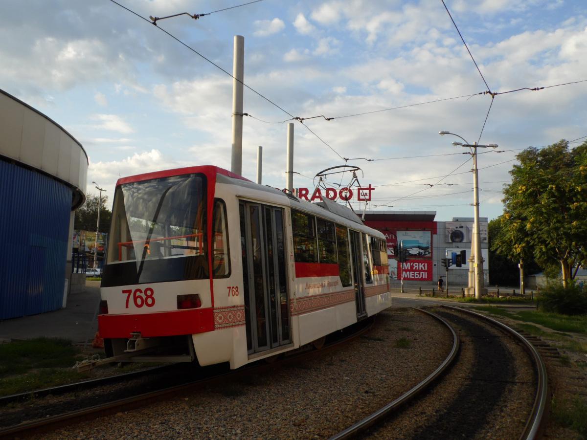 Запорожье. Tatra T3UA-3 №768
