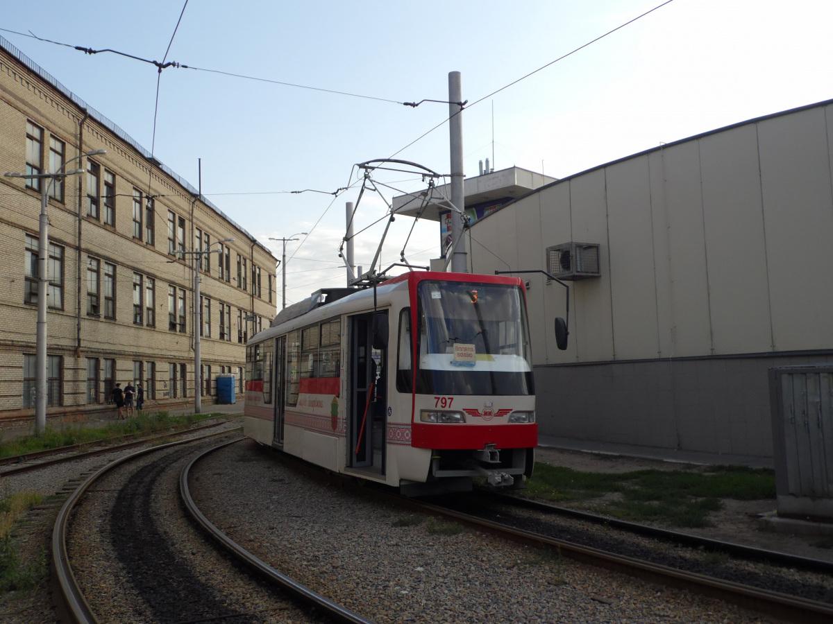 Запорожье. Tatra T3SU №797