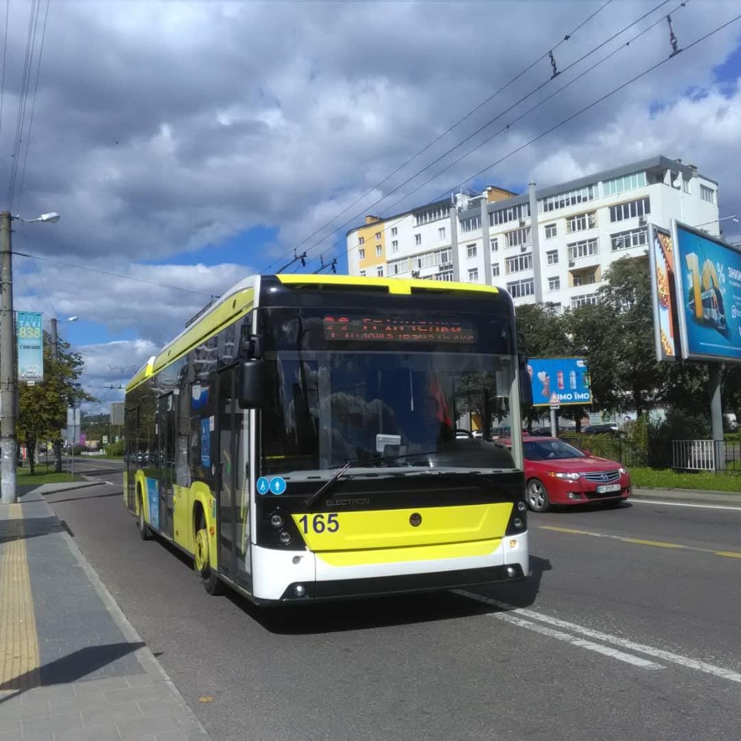 Львов. Electron T19102 №165