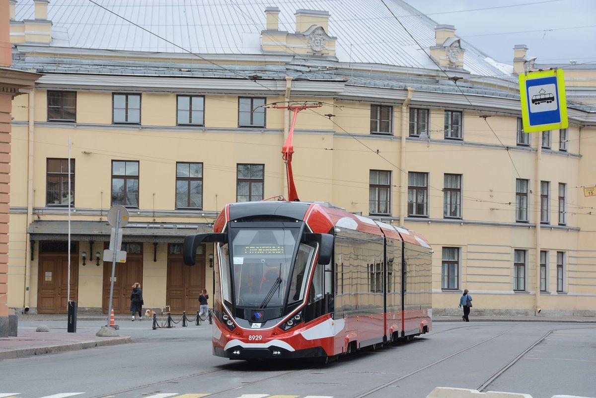 Санкт-Петербург. 71-931АМ Витязь-Ленинград №8929