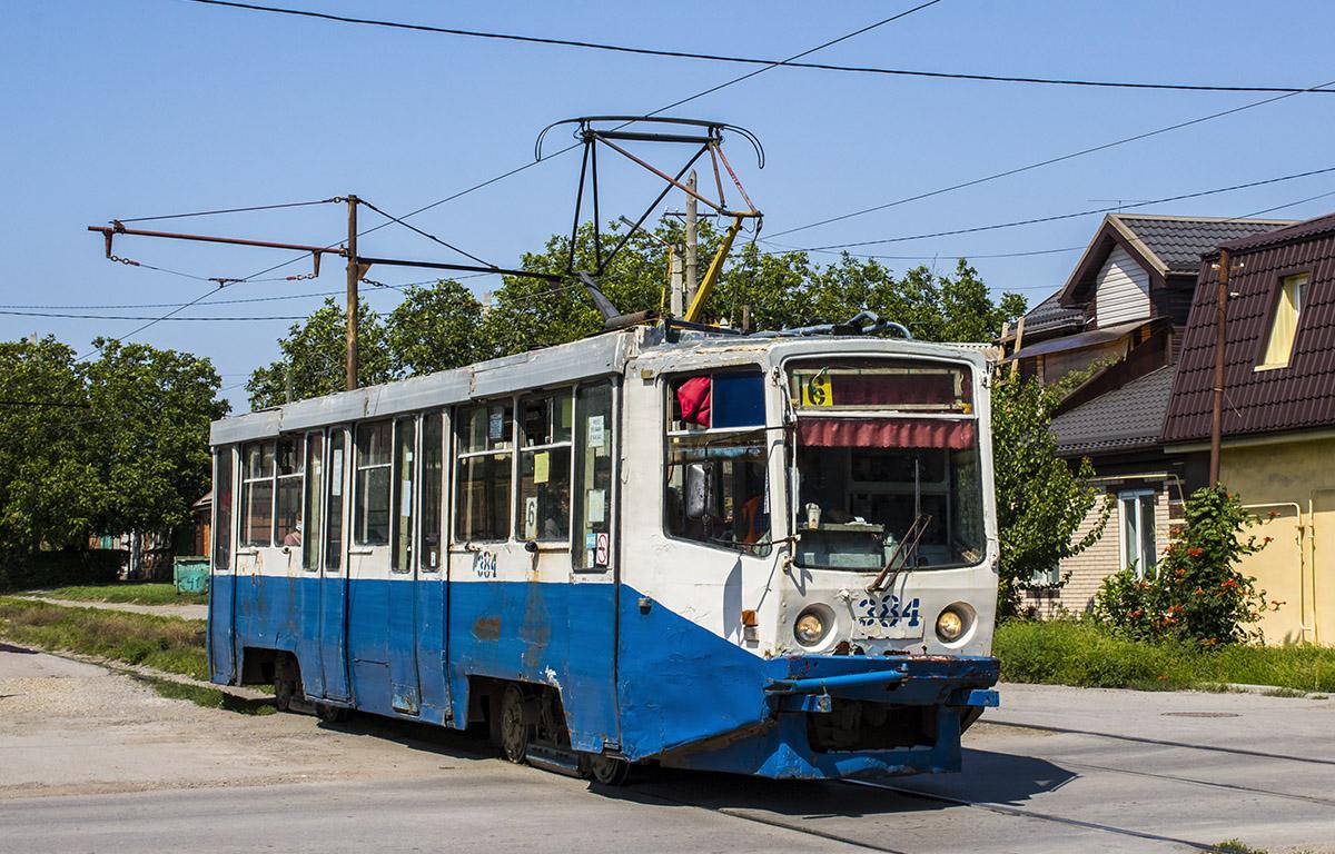 Таганрог. 71-608КМ (КТМ-8М) №384