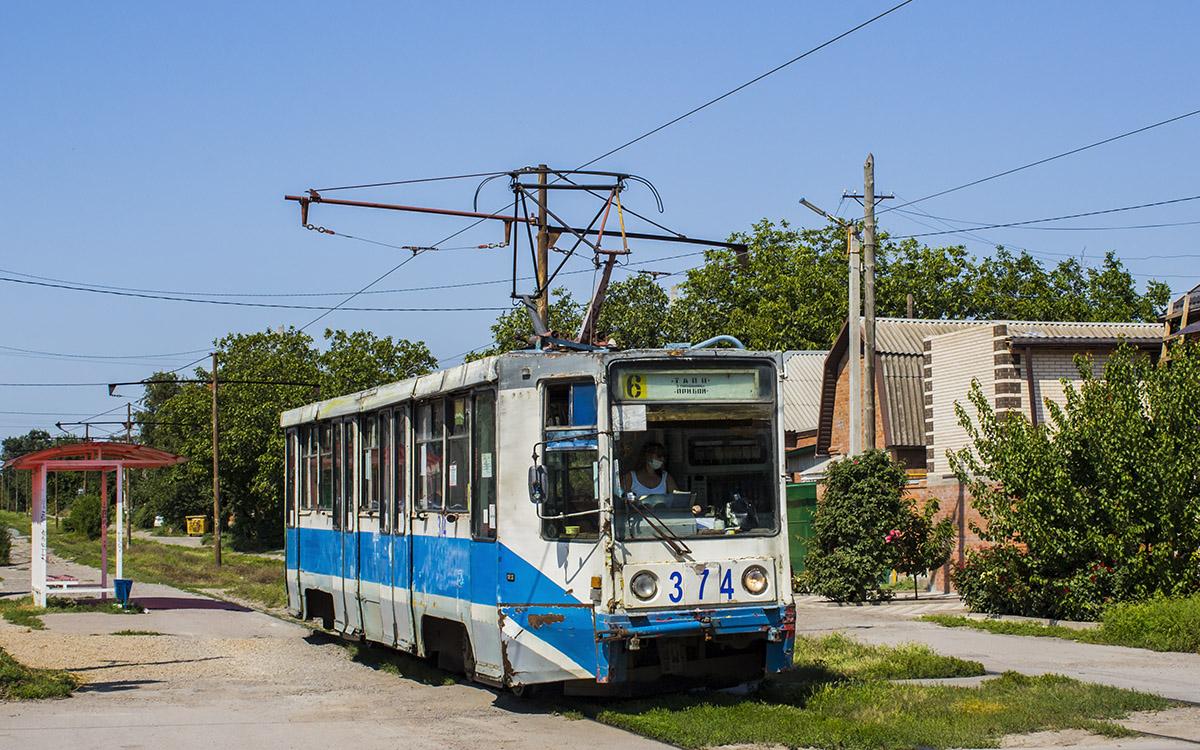 Таганрог. 71-608К (КТМ-8) №374