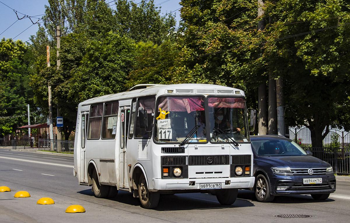Таганрог. ПАЗ-32054 х691св