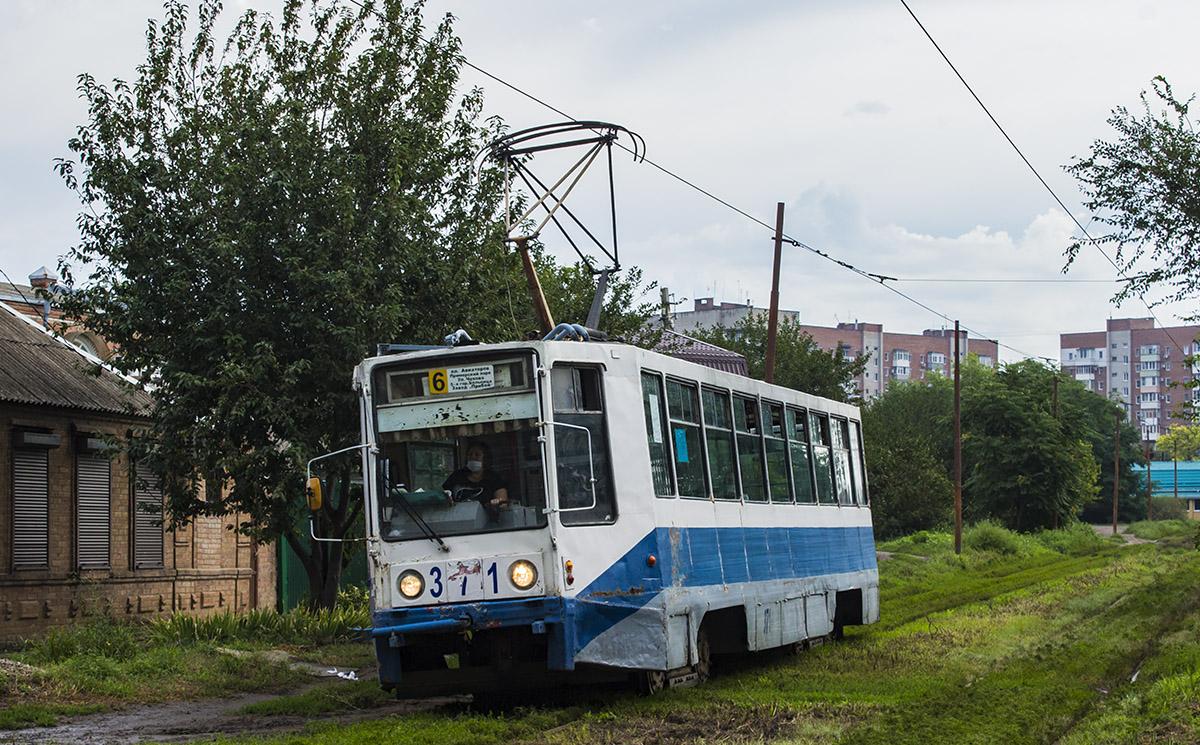 Таганрог. 71-608К (КТМ-8) №371