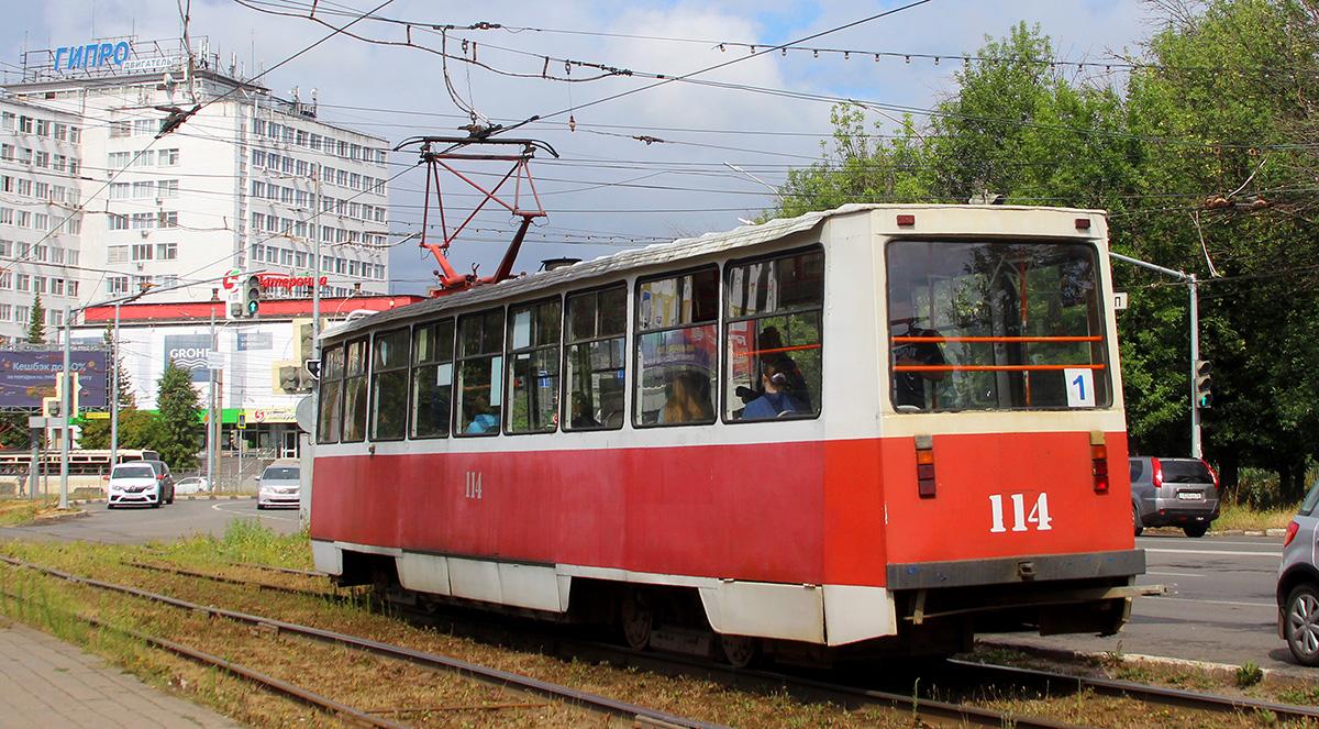 Ярославль. 71-605 (КТМ-5) №114