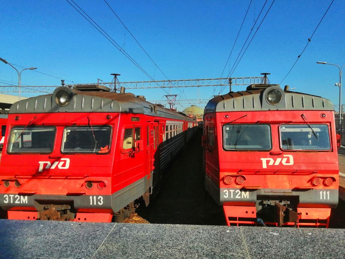 Москва. ЭТ2М-111, ЭТ2М-113