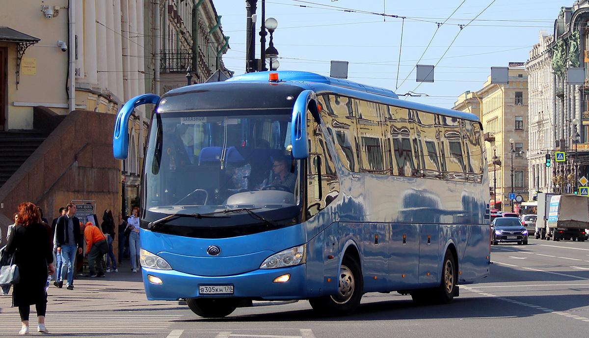 Санкт-Петербург. Yutong ZK6129H в305кн