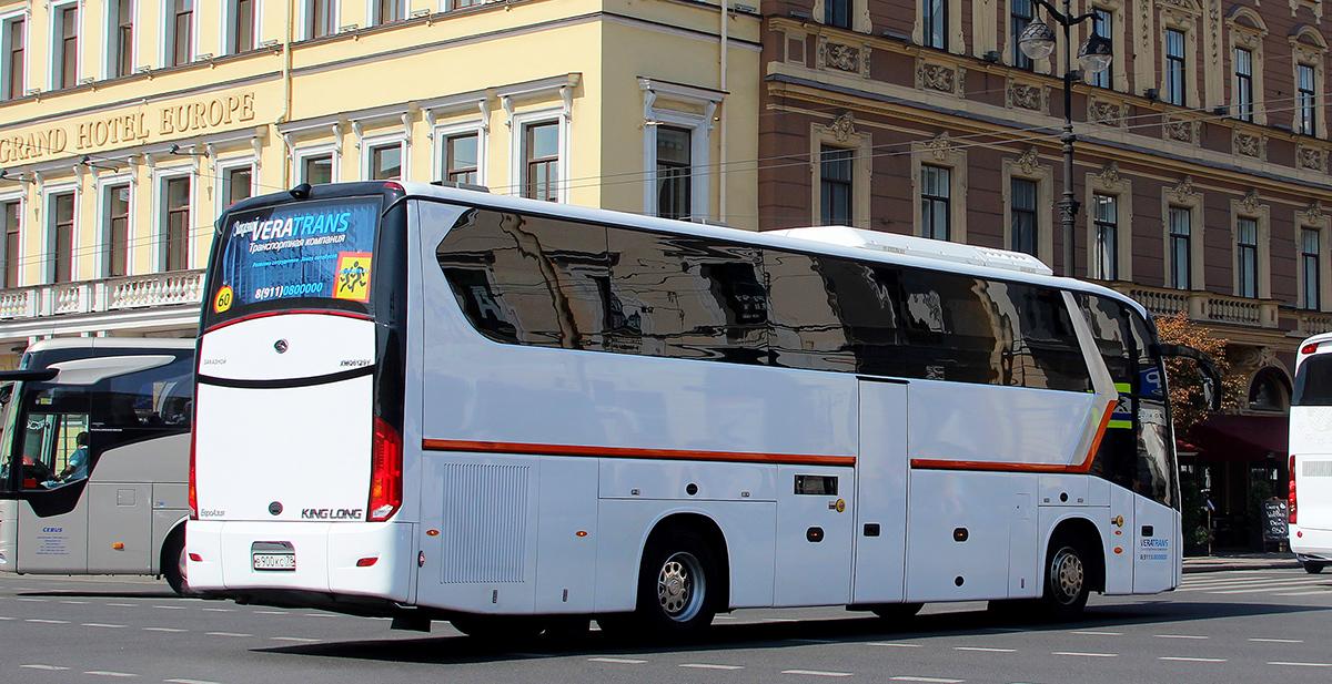Санкт-Петербург. King Long XMQ6129Y в900кс