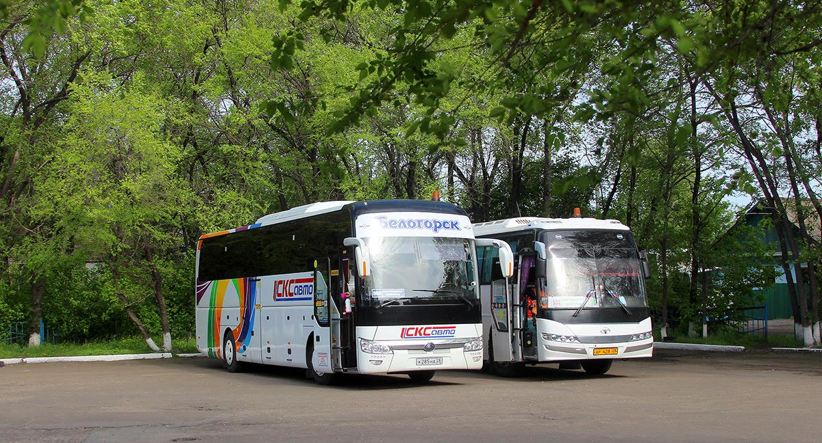 Белогорск. Daewoo BH120F ар428, Yutong ZK6122H9 к285на