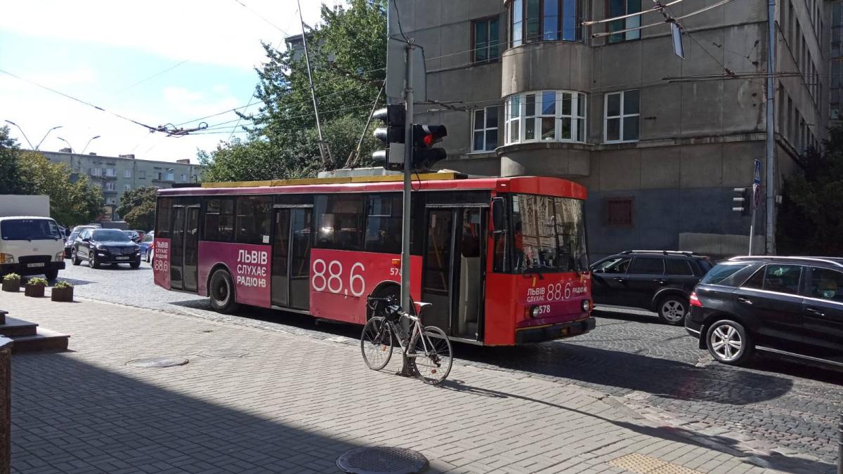 Львов. Škoda 14Tr11/6 №578