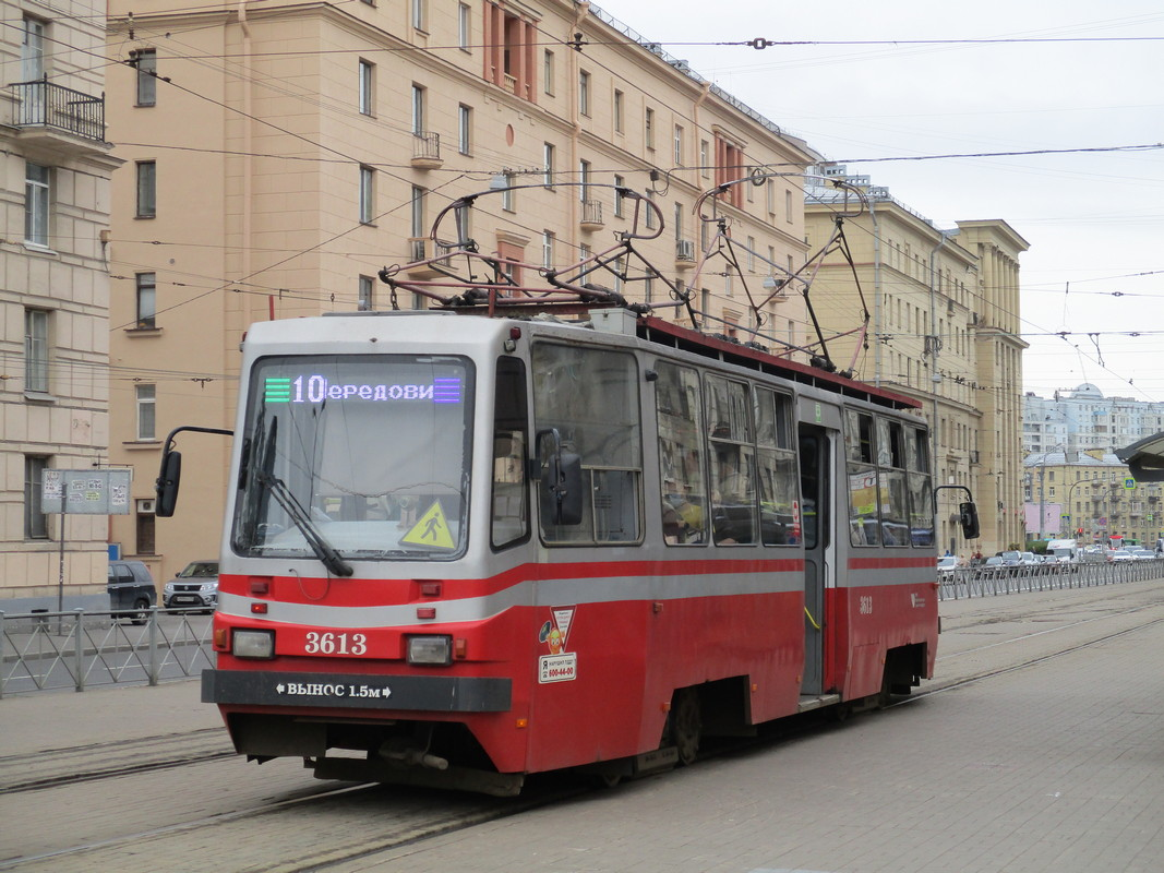 Санкт-Петербург. ТС-77 №3613
