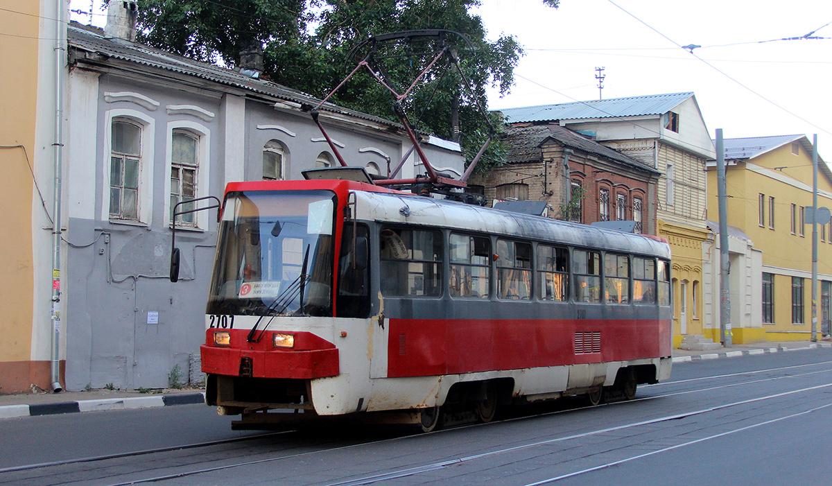 Нижний Новгород. Tatra T3SU КВР ТРЗ №2707