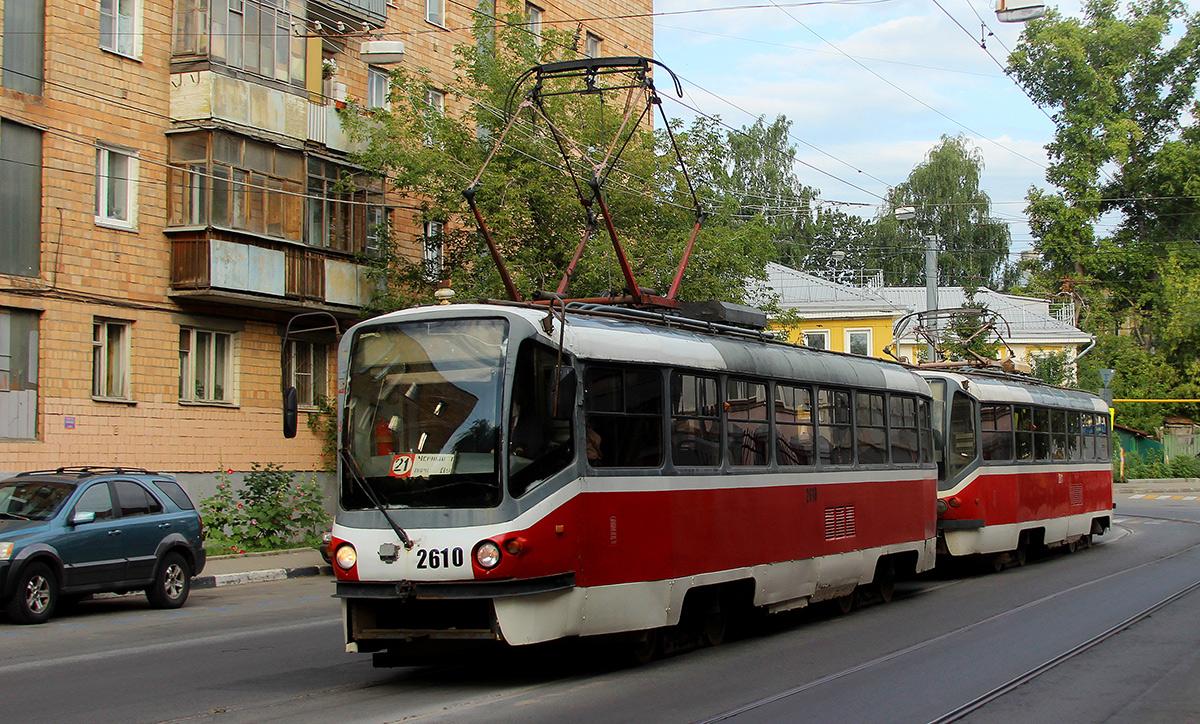 Нижний Новгород. Tatra T3SU КВР ТРЗ №2610, Tatra T3SU КВР ТРЗ №2611
