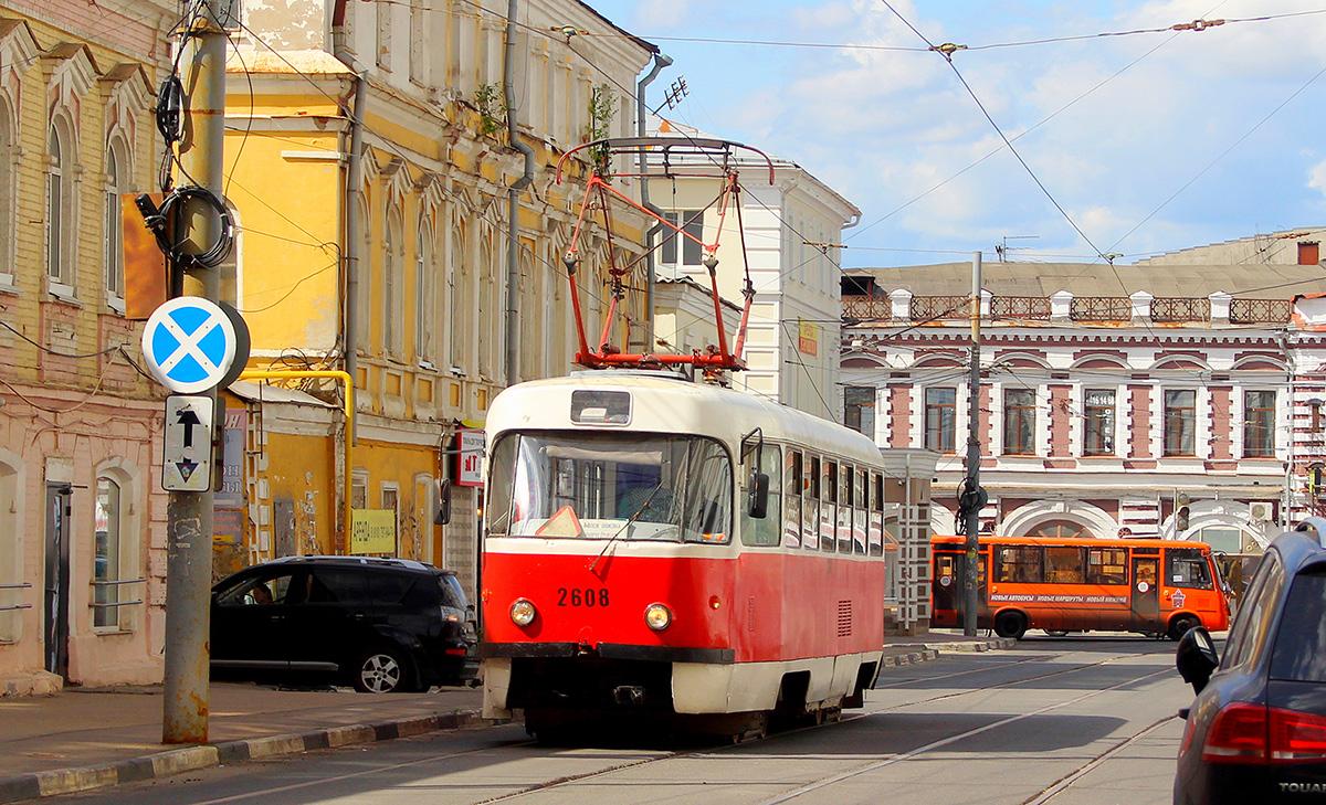 Нижний Новгород. Tatra T3SU №2608