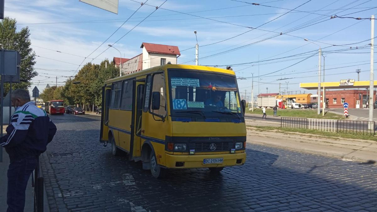 Львов. БАЗ-А079.14 Подснежник BC2134HK