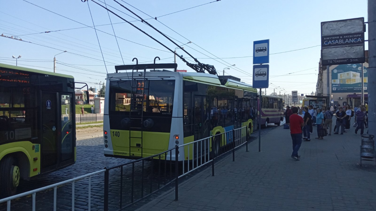 Львов. Electron T19102 №140