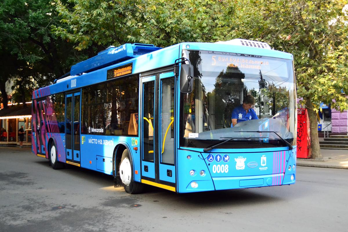Николаев. Дніпро Т203 №0008