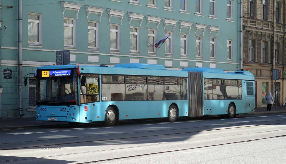 Санкт-Петербург. МАЗ-216.066 е690ув