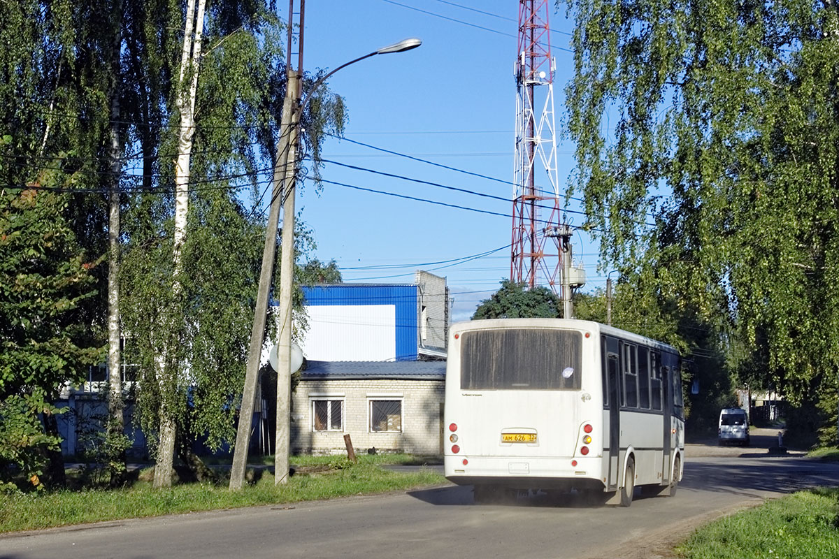 Трубчевск. ПАЗ-320412-04 Вектор ам626