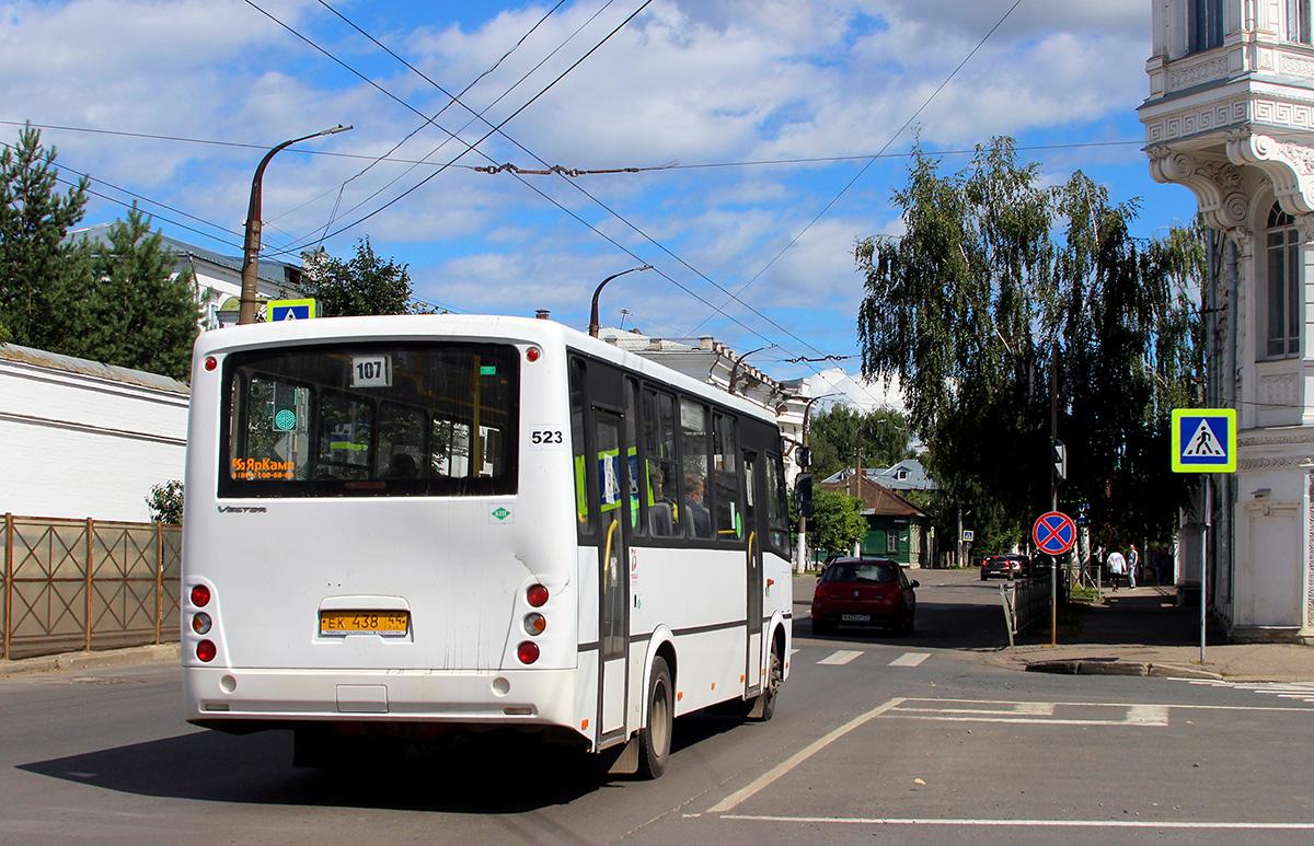 Кострома. ПАЗ-320412-14 Вектор ек438