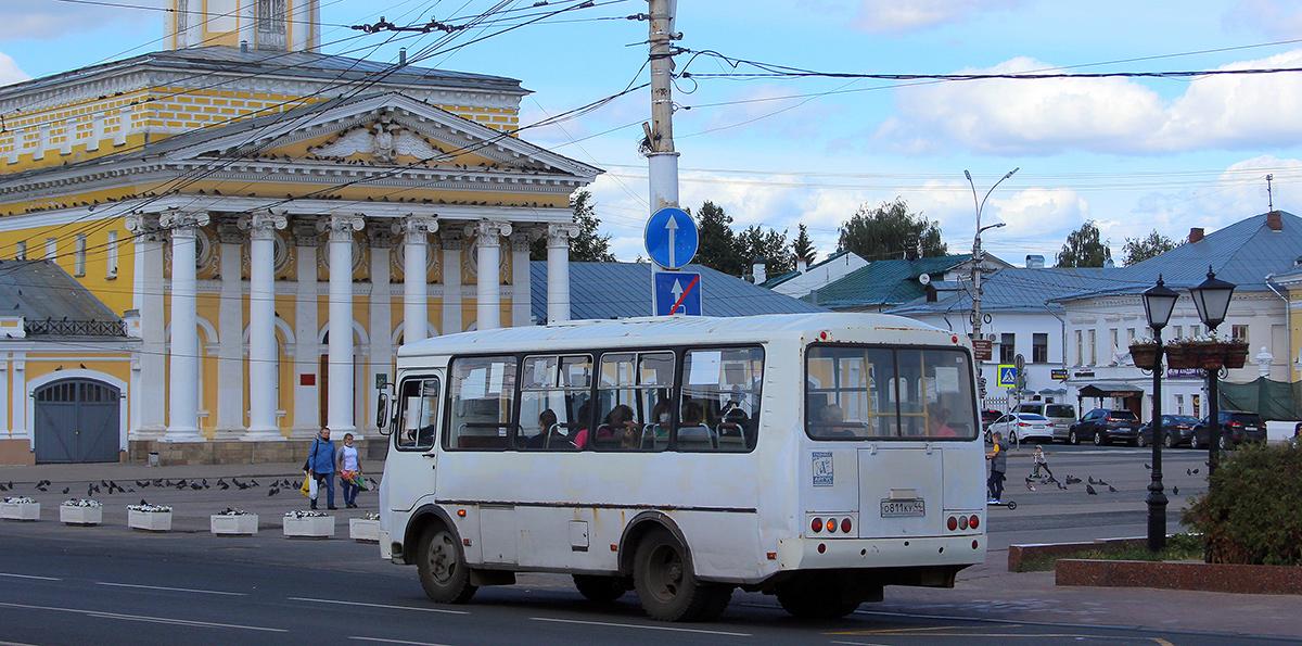 Кострома. ПАЗ-32054 о811ку