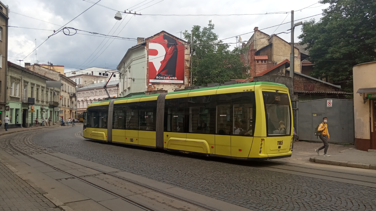 Львов. Electron T3L44 №1185