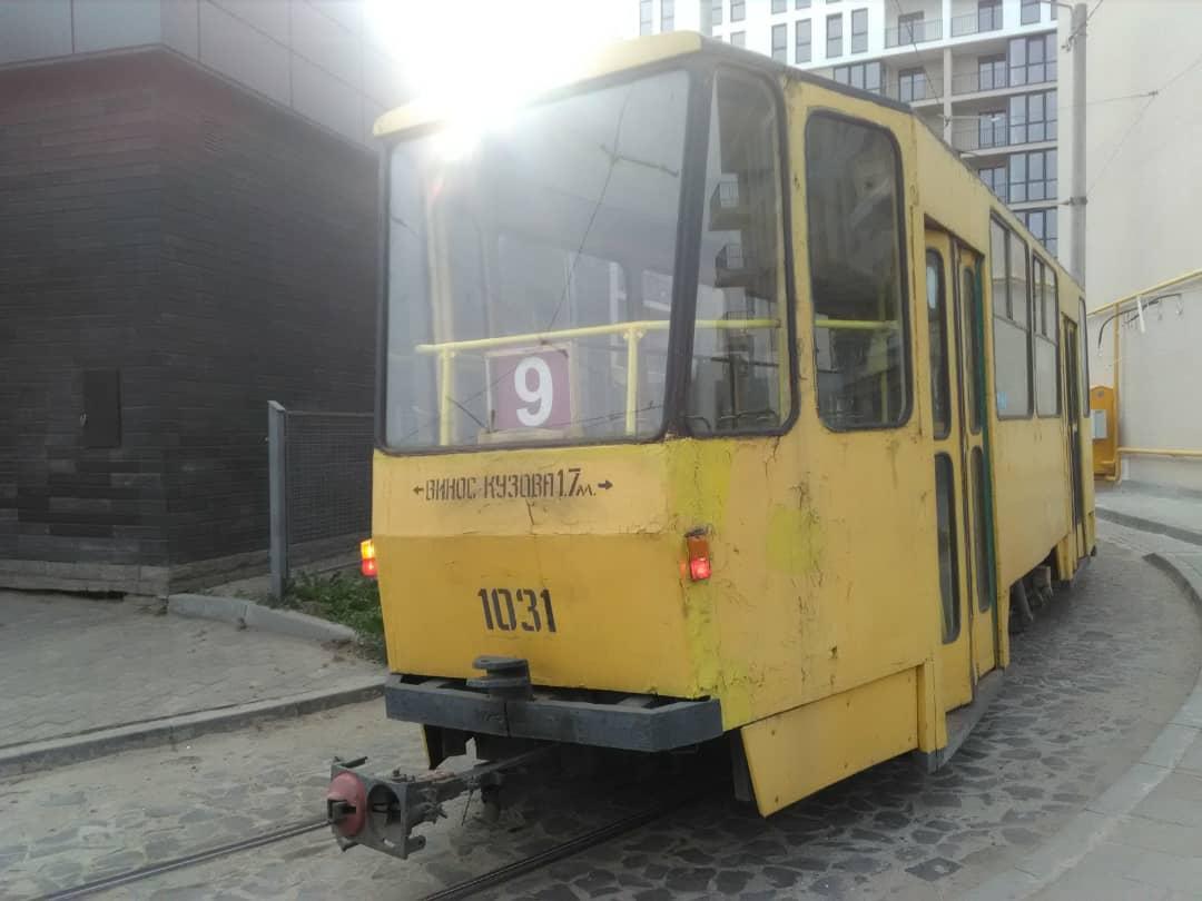 Львов. Tatra KT4SU №1031