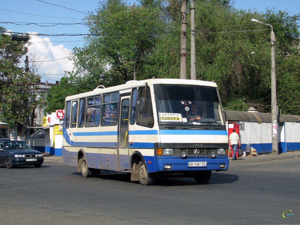 Одесса. БАЗ-А079.23 Мальва BH9487BE