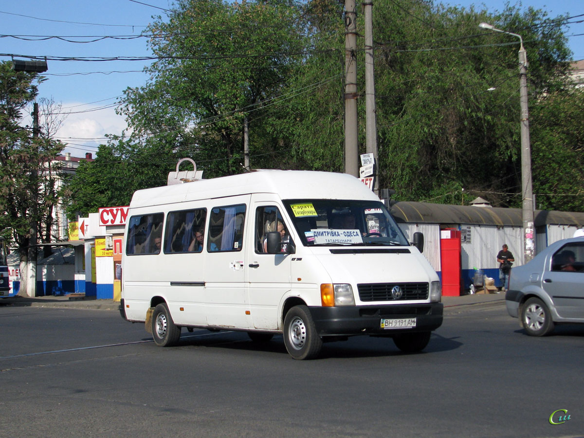 Одесса. Volkswagen LT35 BH9191AM