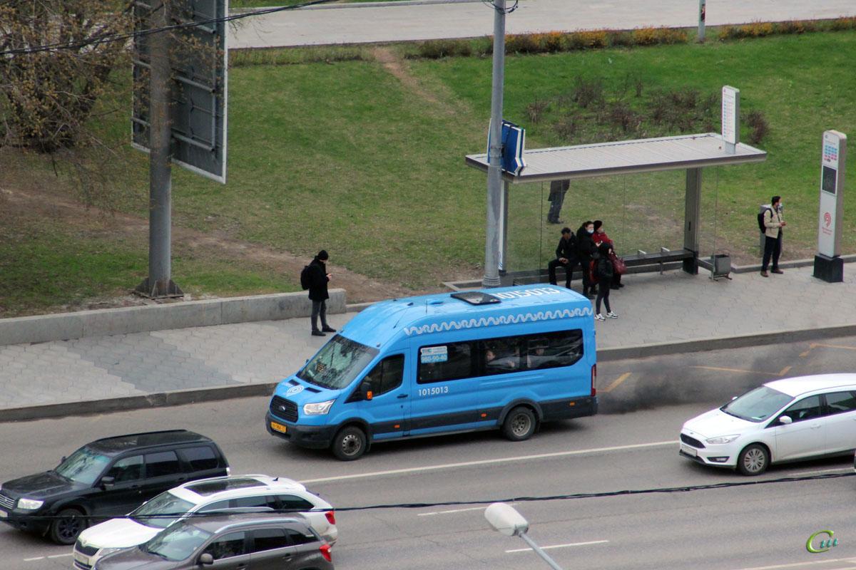 Москва. Sollers Bus (Ford Transit FBD) ху966