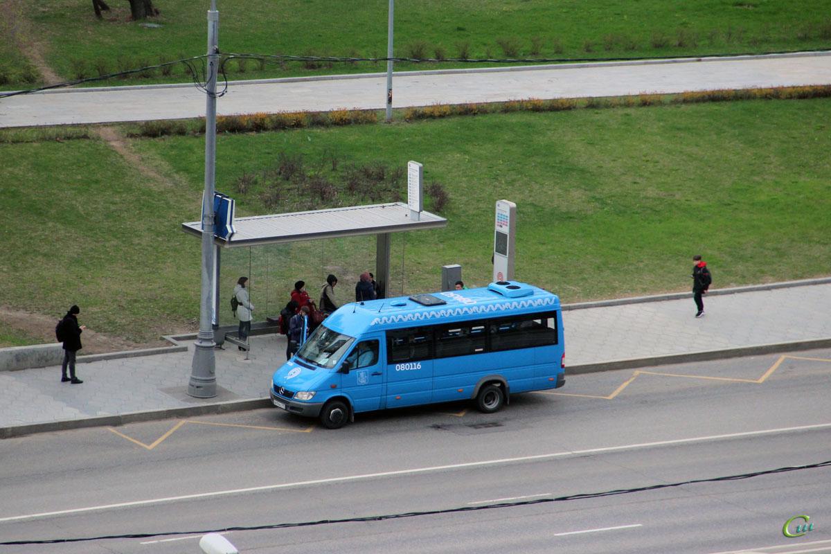 Москва. Луидор-223206 (Mercedes-Benz Sprinter) о414ас
