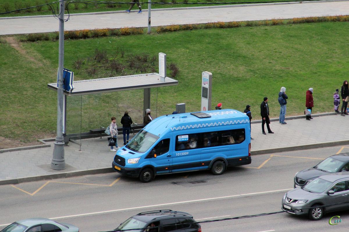 Москва. Sollers Bus (Ford Transit FBD) ху969