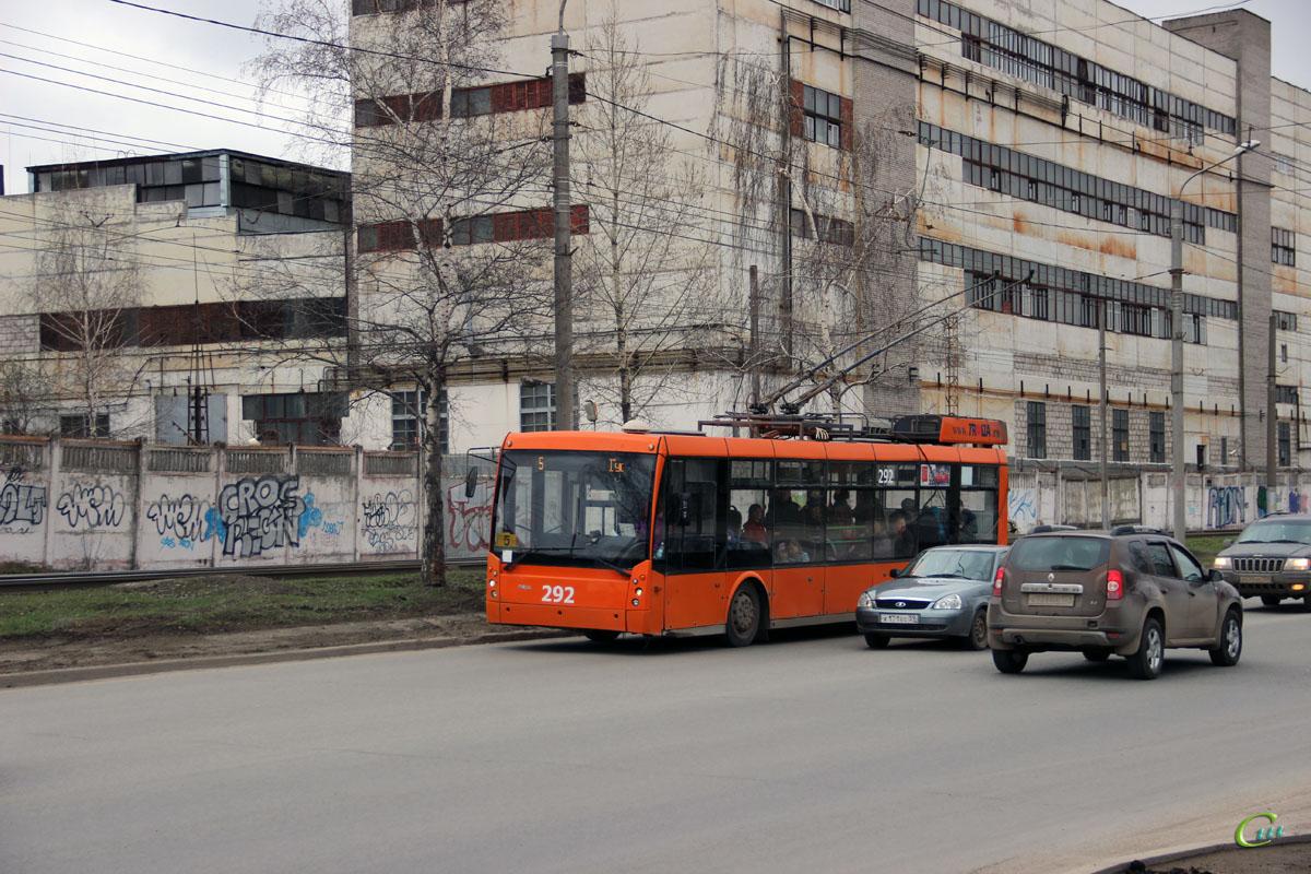 Пермь. ТролЗа-5265.00 Мегаполис №292